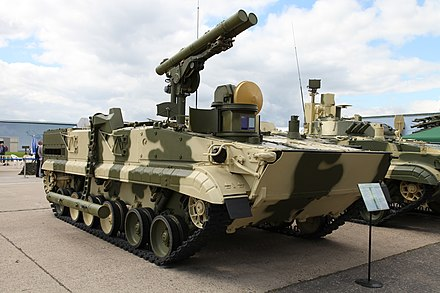 9P157-2 &quotKhrizantema-S&quot variant of the BMP-3 - 9M123 Khrizantema