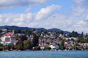 Kilchberg, Zürich - Image: Kilchberg Albis Uetliberg ZSG Pfannenstiel 2013 09 09 14 34 19