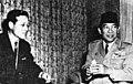 Kim-Jong-pil 김종필 Sukarno Tokyo 1962-11-12.jpg