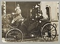 King Haakon and Col. Roosevelt in royal carriage leaving the station at Christiania LCCN2013651160.jpg