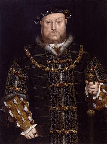 Родители Елизаветы I — отец Генрих VIII