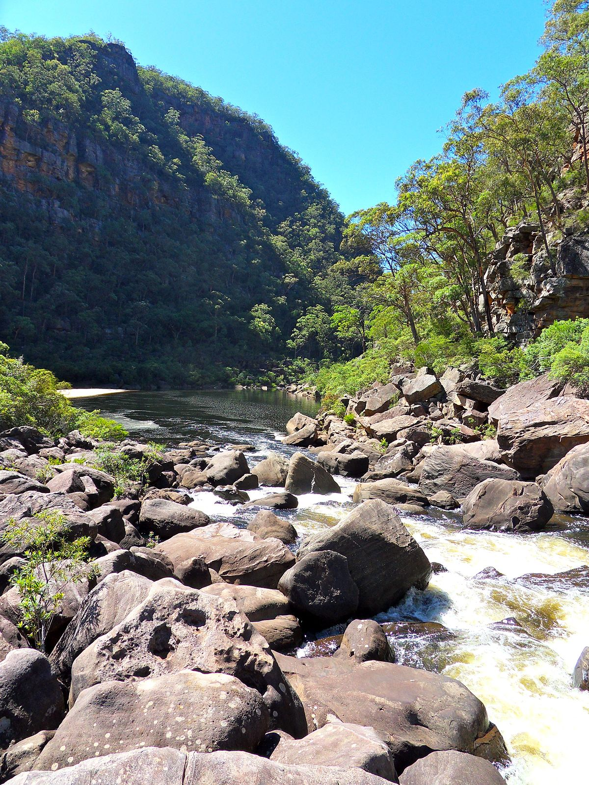 Colo River Wikipedia - Colo river map