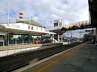 Kingsland railway station, Auckland - Kingsland station in 2014