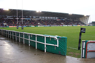 Newcastle Thunder - Kingston Park, seen during a Newcastle Falcons game