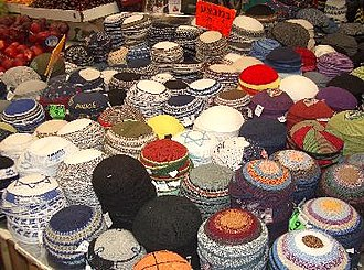 Religious Zionism - Crocheted kippot.