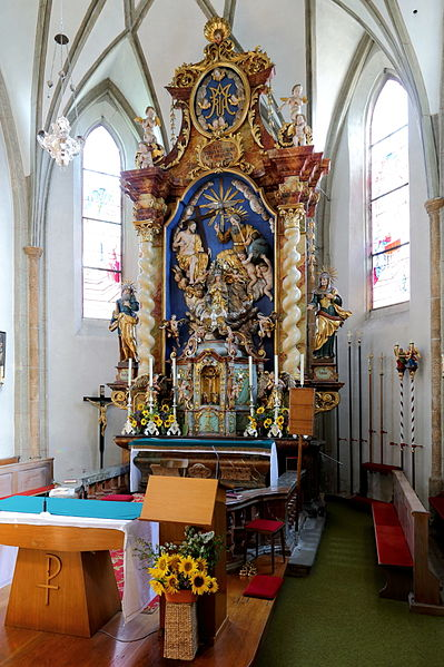 datei kirchdorf am inn o kirche hochaltar jpg wikipedia. Black Bedroom Furniture Sets. Home Design Ideas