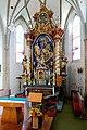 Kirchdorf am Inn (OÖ) - Kirche, Hochaltar.JPG