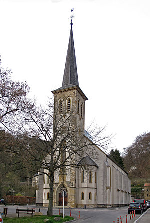 Clausen, Luxembourg - St. Cunegonde, location of Luxembourg's only regular Sunday Tridentine Mass