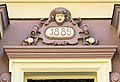 Klagenfurt Viktringer Ring 11 Geburtshaus von Herbert Boeckl Supraporte 14082016 4179.jpg