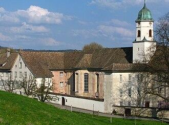 Fahr Monastery - The outside frescos of the monastery's church
