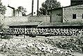 Kocsis András domborműve, amely később a Nemzeti Sportcsarnok (ma Gerevich Aladár Nemzeti Sportcsarnok) főbájarata fölé került. Fortepan 101191.jpg