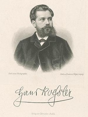 Hans von Koessler - Image: Koessler