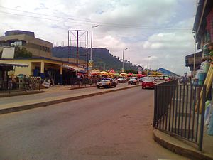 Koforidua - High Street in Koforidua