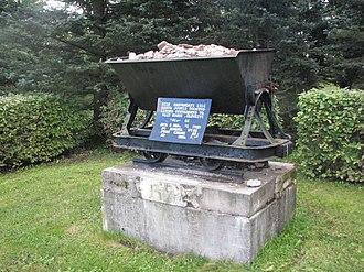Kohtla-Järve - Monument to the beginning of industrial oil shale mining