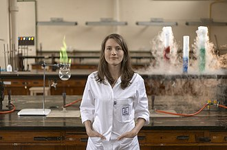 Chemist - A chemist in a lab