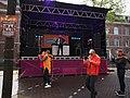 Koningsdag in Amsterdam, Westerstraat foto 4.JPG