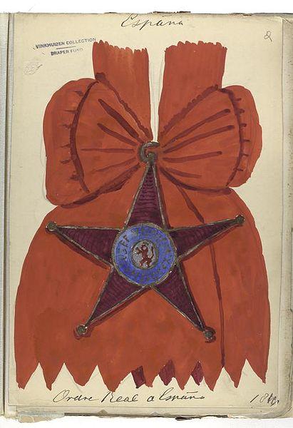 Fichier:Koninklijke Orde van Spanje in de Collectie Vinkhuijzen.jpg