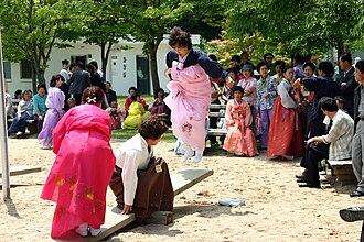 Dano (Korean festival) - Korea Andong Dano Festival Seesawing
