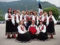 Folkedansgruppa «Kirilind» i estiske nasjonaldrakter