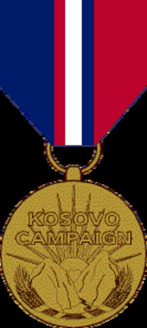 Kosovo Campaign Medal - Kosovo Campaign Medal obverse