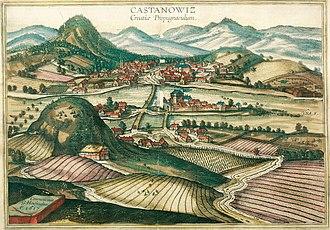 Hrvatska Kostajnica - Hrvatska Kostajnica in 1617