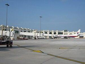 Kota Bharu - Image: Kota Bharu Airport Apron View