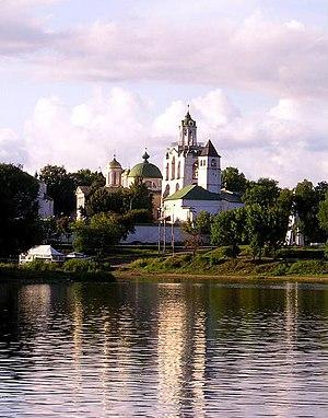 ярославль спасский монастырь закат река, музей.