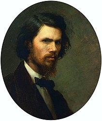 Ivan Kramskoi: Self Portrait