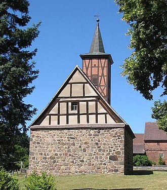 Fieldstone church - Image: Kranepuhl church 1