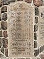 Kriegerdenkmal WKI Namenstafel Siebenbäumen Schürensöhlen Wulmenau.jpg
