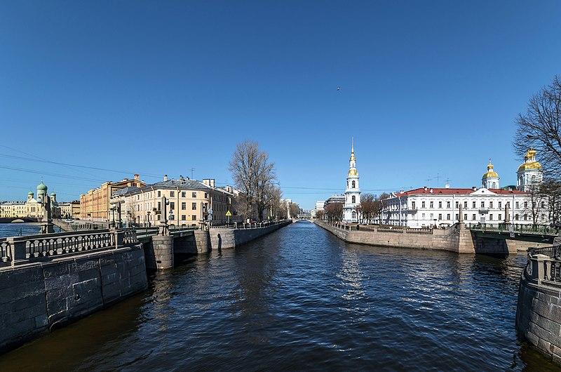 Крюков канал и колокольня Никольского собора
