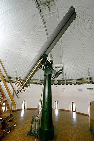 Kuffner Observatory - Image: Kuffner Observatory Refractor
