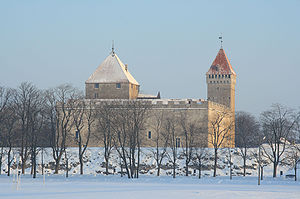 Kuressaare Castle - Image: Kuressaare linnus, 2010