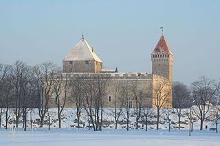 Kuressaare Castle castle in Kuressaare on Saaremaa island, in western Estonia