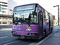 Kurichan Bus in Kusatsu Station.jpg