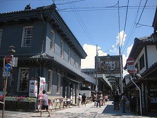 Nagahama, Shiga City in Kansai, Japan