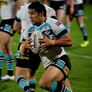 Kylie Leuluai former Samoa international rugby league footballer