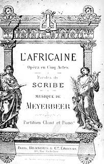 <i>LAfricaine</i>