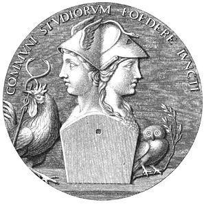 Hermathena - An engraving of Hermathena published in L'Ermatena by Michele Arditi (1816)