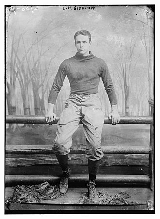 1906 College Football All-America Team - Lucius Horatio Biglow of Yale.
