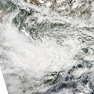 2011 North Indian Ocean cyclone season - Image: LAND 01 Jul 22 2011 0735Z