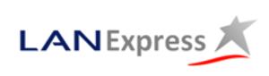 LATAM Express - previous LATAM Express logo, in LAN branding