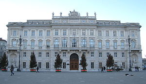Piazza Unità d'Italia - Previous head office of Italia Marittima