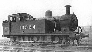 LMS Fowler Class 3F - 16564, newly built in 1928