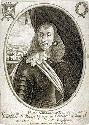 La Motte, Philippe de Houdancourt, Comte de (1605-1657)