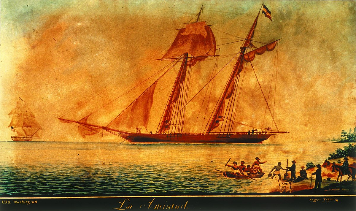 an analysis of amistad Journal of legal analysis view all resources authors booksellers joseph cinqué led other blacks in a revolt on the spanish slave ship, amistad, in the.
