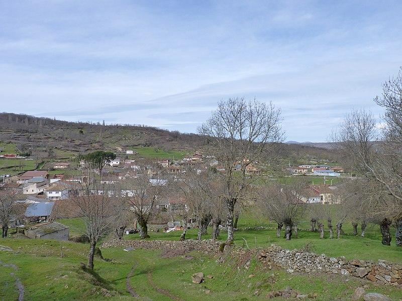 Vista general de La Calzada de Béjar.