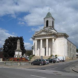 La Gacilly - St. Nicholas' church in La Gacilly.