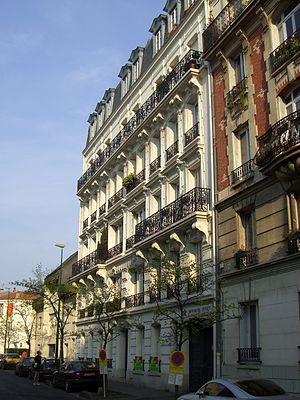 La Garenne-Colombes - Bloc of flats, built in 1903