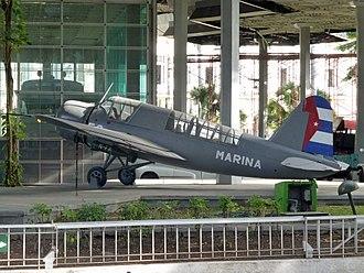 Cuban Revolutionary Air and Air Defense Force - A Cuban Naval Vought OS2U-3